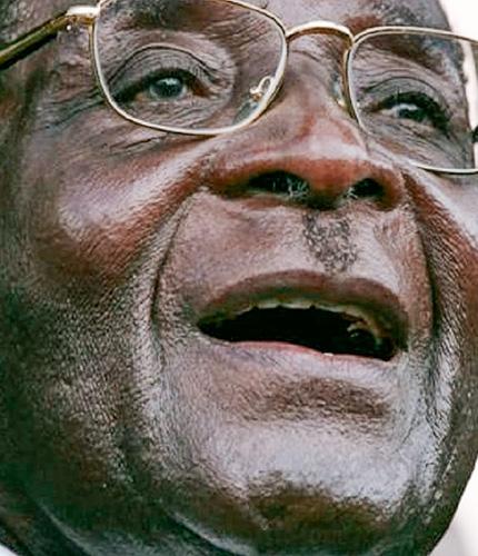 6. Robert Mugabe, la déconfiture