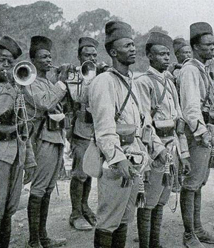 1. Tirailleurs sénégalais
