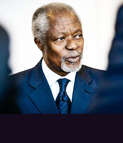 3. Kofi Annan en Bosnie